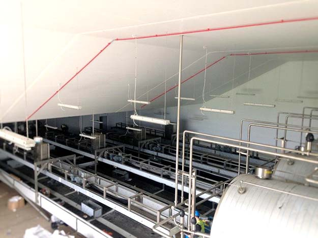 Cheese Production Factory